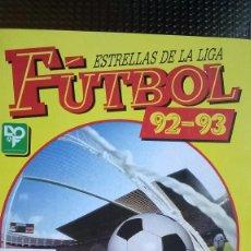 Álbum de fútbol completo: FUTBOL 92-93 ESTRELLAS DE LA LIGA - PANINI. Lote 86367944