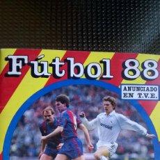 Álbum de fútbol completo: FUTBOL 88 - ESTRELLAS DEL FUTBOL MUNDIAL 1º DIVISION - PANINI. Lote 86368852