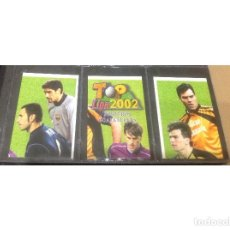 Álbum de fútbol completo: MUNDICROMO TOP LIGA 198 FICHAS 2002. Lote 86450904