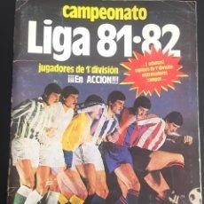 Álbum de fútbol completo: ALBUM DE CROMOS COMPLETO CAMPEONATO LIGA 81-82 ESTE 1981 1982. Lote 86549284