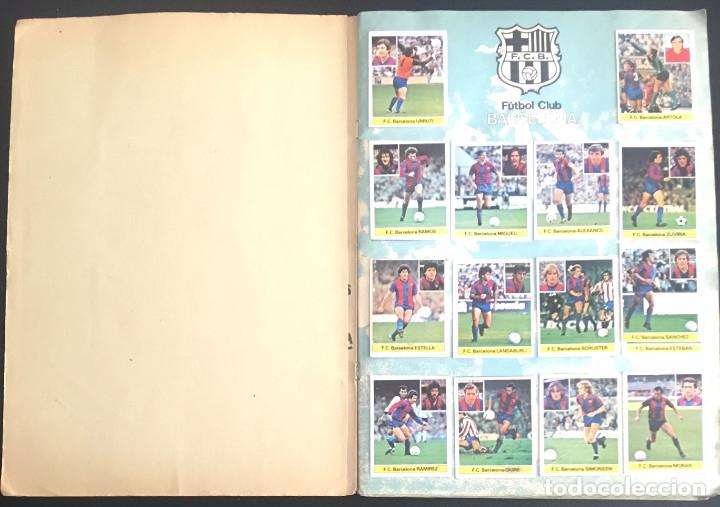 Álbum de fútbol completo: album de cromos completo campeonato liga 81-82 este 1981 1982 - Foto 2 - 86549284