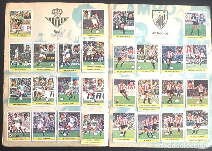 Álbum de fútbol completo: album de cromos completo campeonato liga 81-82 este 1981 1982 - Foto 3 - 86549284
