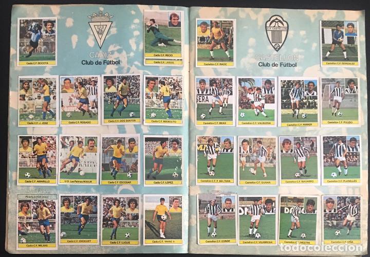Álbum de fútbol completo: album de cromos completo campeonato liga 81-82 este 1981 1982 - Foto 4 - 86549284