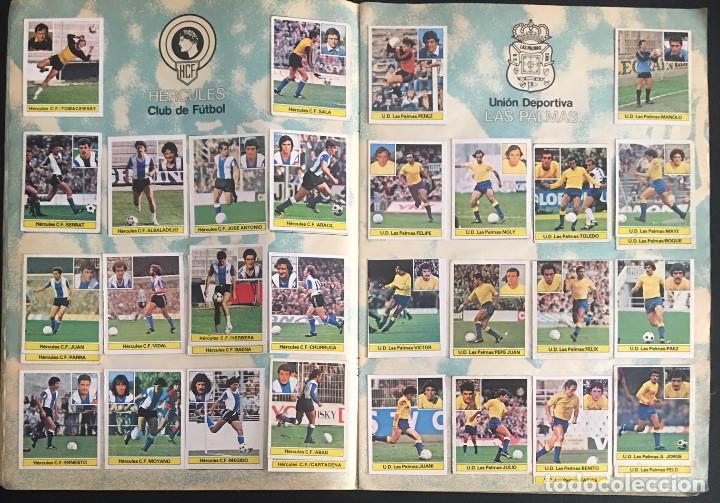 Álbum de fútbol completo: album de cromos completo campeonato liga 81-82 este 1981 1982 - Foto 6 - 86549284