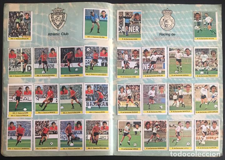 Álbum de fútbol completo: album de cromos completo campeonato liga 81-82 este 1981 1982 - Foto 8 - 86549284