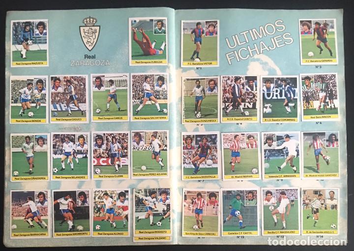 Álbum de fútbol completo: album de cromos completo campeonato liga 81-82 este 1981 1982 - Foto 11 - 86549284