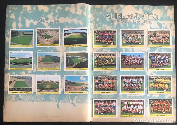 Álbum de fútbol completo: album de cromos completo campeonato liga 81-82 este 1981 1982 - Foto 13 - 86549284