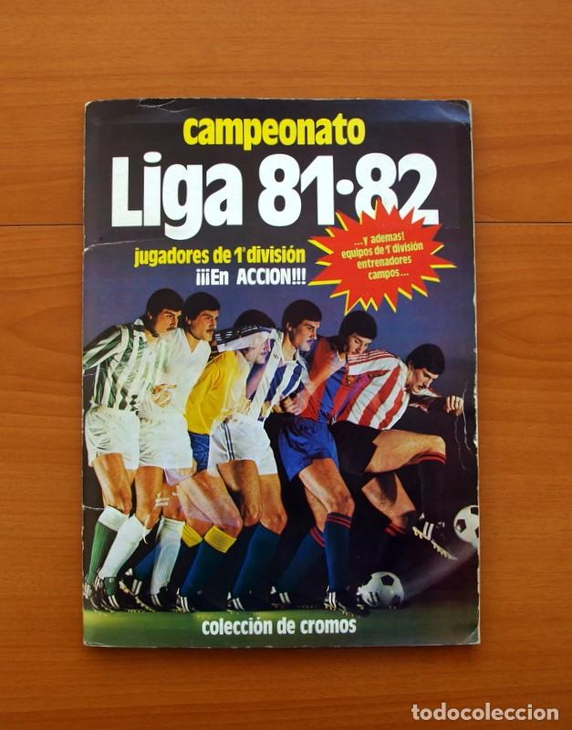 ALBUM LIGA 81-82, 1981-1982 -ED. ESTE - COMPLETO, MAS 36 CROMOS QUE VAN APARTE, VER FOTOS INTERIORES (Coleccionismo Deportivo - Álbumes y Cromos de Deportes - Álbumes de Fútbol Completos)