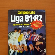 Álbum de fútbol completo: ALBUM LIGA 81-82, 1981-1982 -ED. ESTE - COMPLETO, MAS 36 CROMOS QUE VAN APARTE, VER FOTOS INTERIORES. Lote 86647900
