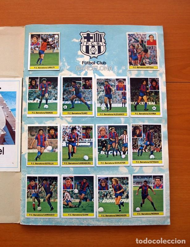 Álbum de fútbol completo: Album Liga 81-82, 1981-1982 -Ed. Este - Completo, mas 36 cromos que van aparte, ver fotos interiores - Foto 3 - 86647900