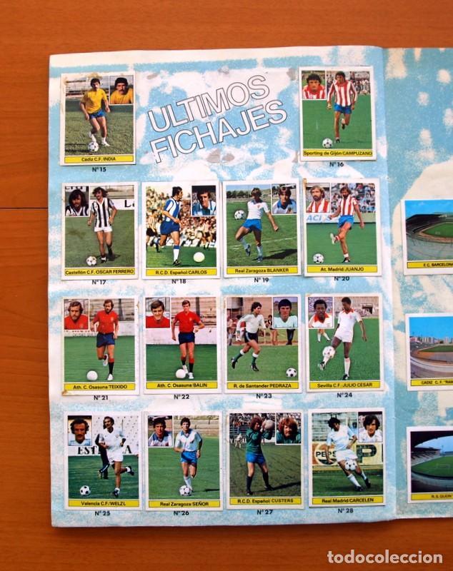 Álbum de fútbol completo: Album Liga 81-82, 1981-1982 -Ed. Este - Completo, mas 36 cromos que van aparte, ver fotos interiores - Foto 22 - 86647900