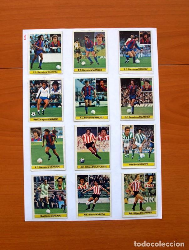Álbum de fútbol completo: Album Liga 81-82, 1981-1982 -Ed. Este - Completo, mas 36 cromos que van aparte, ver fotos interiores - Foto 30 - 86647900