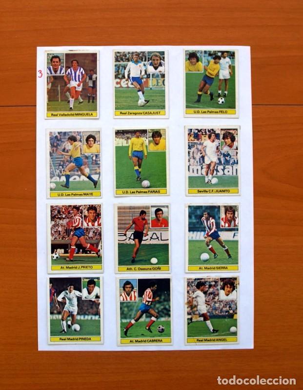 Álbum de fútbol completo: Album Liga 81-82, 1981-1982 -Ed. Este - Completo, mas 36 cromos que van aparte, ver fotos interiores - Foto 32 - 86647900