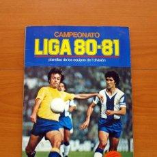 Álbum de fútbol completo: ÁLBUM CAMPEONATO, LIGA 80-81, 1980-1981 - EDICIONES ESTE - COMPLETO - VER FOTOS EN EL INTERIOR. Lote 86730280
