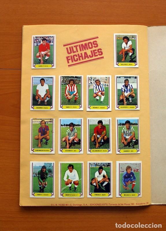 Álbum de fútbol completo: Álbum Campeonato, Liga 80-81, 1980-1981 - Ediciones Este - Completo - Ver fotos en el interior - Foto 26 - 86730280