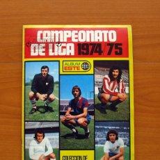 Álbum de fútbol completo: ÁLBUM CAMPEONATO DE LIGA 1974-1975, 74-75 - EDICIONES ESTE - COMPLETO - VER FOTOS EN EL INTERIOR. Lote 86730644