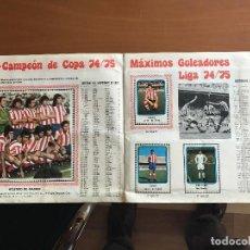 Álbum de fútbol completo: VULCANO 75 76 COMPLETO 1975 1976. Lote 86739216