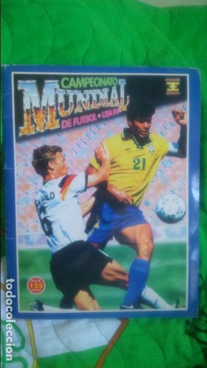 ALBUM MUNDIAL USA'94.EDICIONES ESTADIO.FALTAN 3 CROMOS. (Coleccionismo Deportivo - Álbumes y Cromos de Deportes - Álbumes de Fútbol Completos)