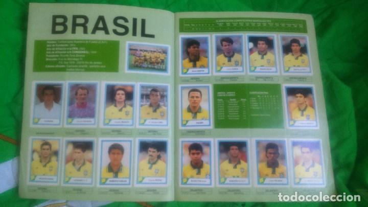 Álbum de fútbol completo: ALBUM MUNDIAL USA'94.EDICIONES ESTADIO.FALTAN 3 CROMOS. - Foto 4 - 87022232