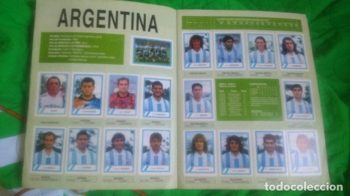 Álbum de fútbol completo: ALBUM MUNDIAL USA'94.EDICIONES ESTADIO.FALTAN 3 CROMOS. - Foto 5 - 87022232