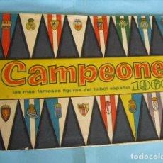 Álbum de fútbol completo: ALBUM CAMPEONES DE BRUGUERA 1959-60. Lote 87051956