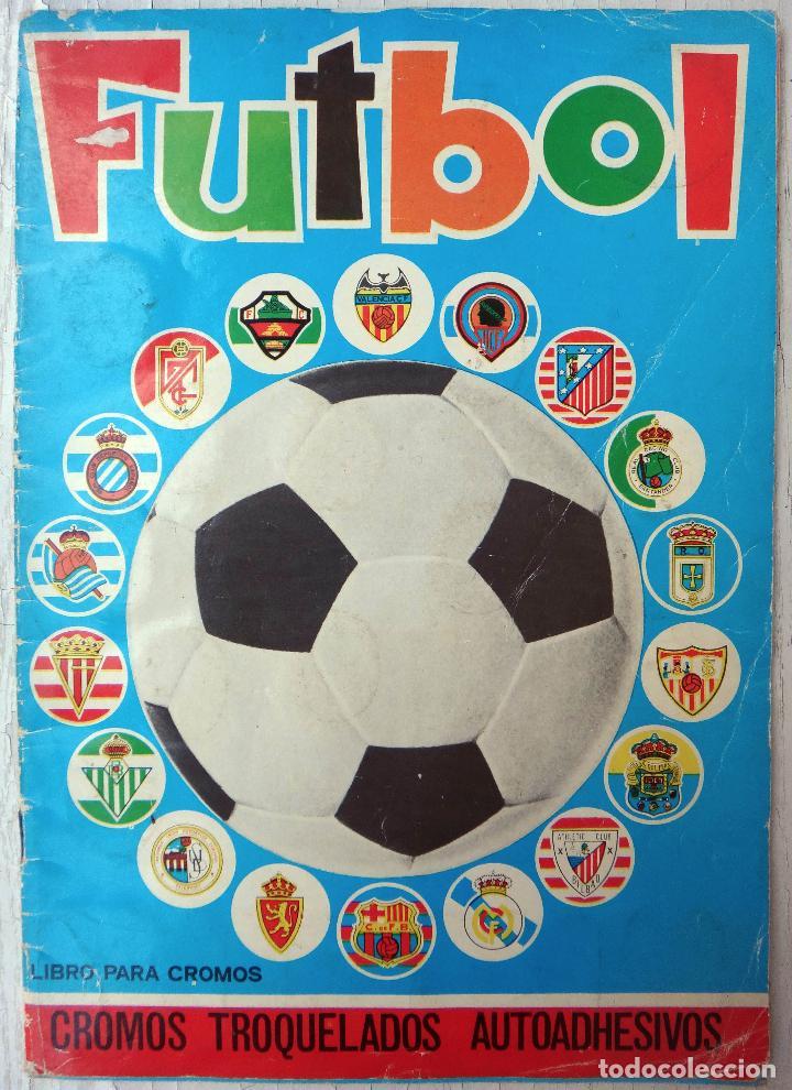 ALBUM FUTBOL, CAMPEONATO LIGA 1975-76, 75-76 MAGA , COMPLETO, CROMOS TROQUELADOS AUTOADHESIVOS, H (Coleccionismo Deportivo - Álbumes y Cromos de Deportes - Álbumes de Fútbol Completos)