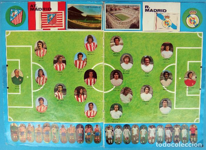 Álbum de fútbol completo: ALBUM FUTBOL, CAMPEONATO LIGA 1975-76, 75-76 MAGA , COMPLETO, CROMOS TROQUELADOS AUTOADHESIVOS, H - Foto 2 - 87068612