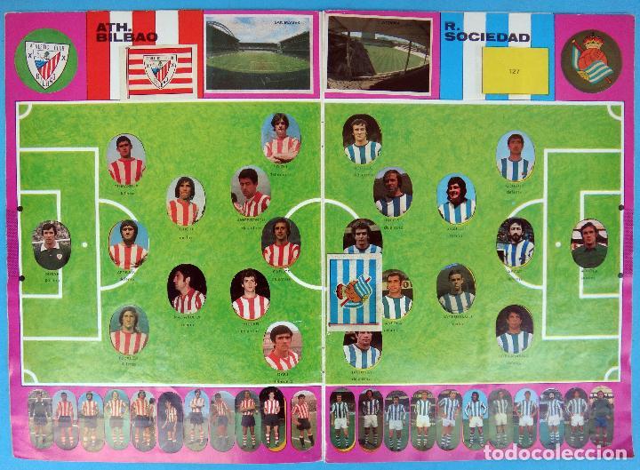 Álbum de fútbol completo: ALBUM FUTBOL, CAMPEONATO LIGA 1975-76, 75-76 MAGA , COMPLETO, CROMOS TROQUELADOS AUTOADHESIVOS, H - Foto 4 - 87068612