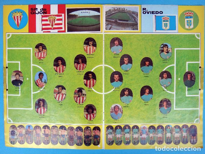 Álbum de fútbol completo: ALBUM FUTBOL, CAMPEONATO LIGA 1975-76, 75-76 MAGA , COMPLETO, CROMOS TROQUELADOS AUTOADHESIVOS, H - Foto 5 - 87068612