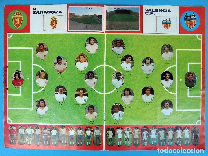 Álbum de fútbol completo: ALBUM FUTBOL, CAMPEONATO LIGA 1975-76, 75-76 MAGA , COMPLETO, CROMOS TROQUELADOS AUTOADHESIVOS, H - Foto 6 - 87068612