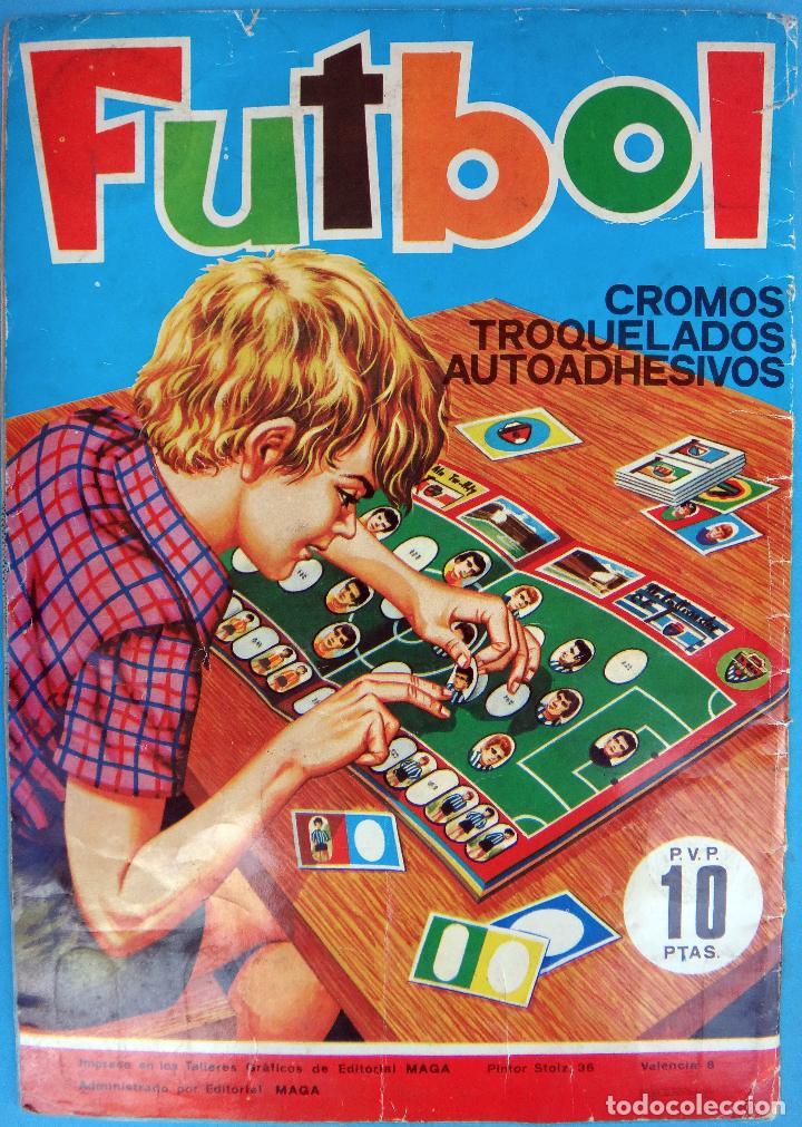 Álbum de fútbol completo: ALBUM FUTBOL, CAMPEONATO LIGA 1975-76, 75-76 MAGA , COMPLETO, CROMOS TROQUELADOS AUTOADHESIVOS, H - Foto 11 - 87068612