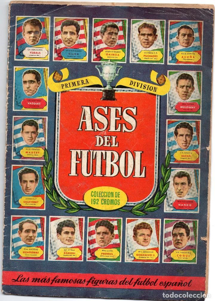 ALBUM ASES DEL FUTBOL,1952-53, DE BRUGUERA (Coleccionismo Deportivo - Álbumes y Cromos de Deportes - Álbumes de Fútbol Completos)