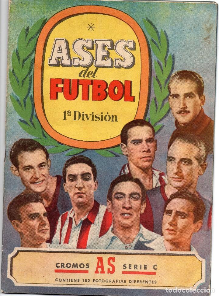ALBUM, ASES DEL FUTBOL,1944-45, DE BRUGUERA, (Coleccionismo Deportivo - Álbumes y Cromos de Deportes - Álbumes de Fútbol Completos)