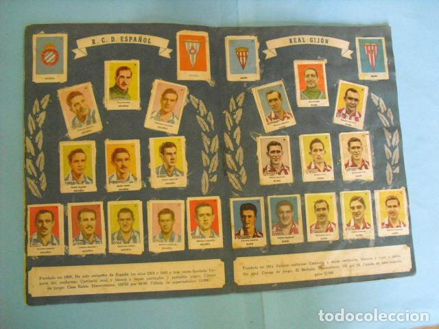 Álbum de fútbol completo: album, ases del futbol,1944-45, de bruguera, - Foto 5 - 87071316