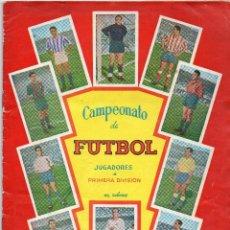Álbum de fútbol completo: ALBUM, CAMPEONATO DE FUTBOL, GRAFICAS BACHENDE 1957-58. Lote 87157508