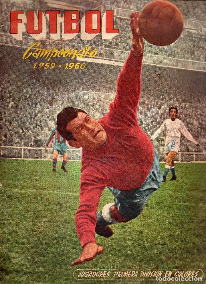 ALBUM, FUTBOL CAMPEONATO 1959-1960, DE FERCA (Coleccionismo Deportivo - Álbumes y Cromos de Deportes - Álbumes de Fútbol Completos)