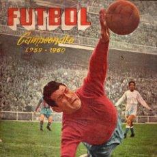 Álbum de fútbol completo: ALBUM, FUTBOL CAMPEONATO 1959-1960, DE FERCA. Lote 87158668