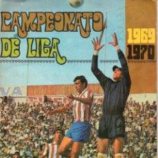Álbum de fútbol completo: ALBUM, CAMPEONATO DE LIGA 1969 - 1970, DE EXCLUSIVAS DISGRA. Lote 87246568