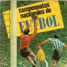 Álbum de fútbol completo: ALBUM, CAMPEONATOS NACIONALES DE FUTBOL,1968, DE RUIZ ROMERO 1967 - 68,. Lote 87248512