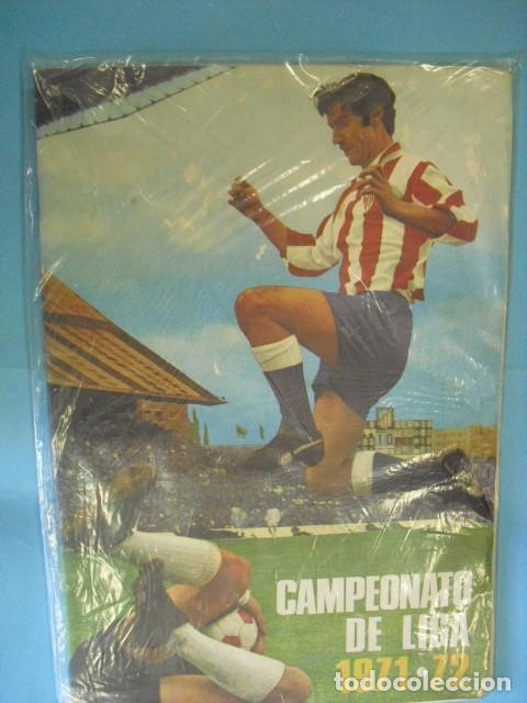 ALBUM CAMPEONATO DE LIGA 1971 - 72, DE DISGRA (Coleccionismo Deportivo - Álbumes y Cromos de Deportes - Álbumes de Fútbol Completos)