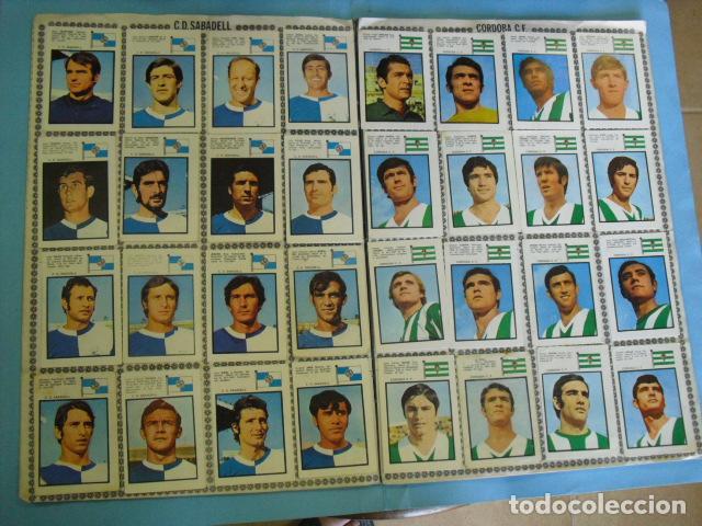 Álbum de fútbol completo: album campeonato de liga 1971 - 72, de DISGRA - Foto 5 - 87402048