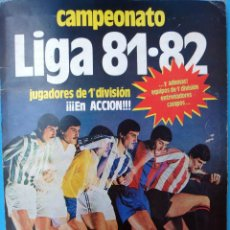 Álbum de fútbol completo: ALBUM FUTBOL LIGA 19811982 81 82 , COMPLETO , EDICIONES ESTE , ORIGINAL ,H . Lote 87432192
