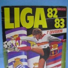 Álbum de fútbol completo: ALBUM, LIGA 82 - 83, DE EDICIONES ESTE,. Lote 87498736