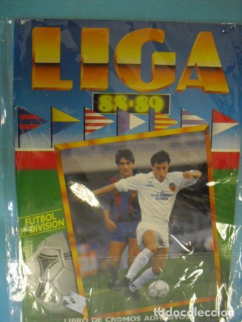 ALBUM, LIGA 88-89, DE EDICIONES ESTE, (Coleccionismo Deportivo - Álbumes y Cromos de Deportes - Álbumes de Fútbol Completos)