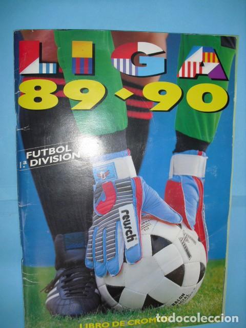 ALBUM, LIGA 89 - 90, DE EDICIONES ESTE, (Coleccionismo Deportivo - Álbumes y Cromos de Deportes - Álbumes de Fútbol Completos)