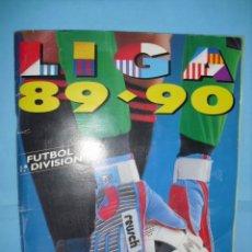 Álbum de fútbol completo: ALBUM, LIGA 89 - 90, DE EDICIONES ESTE,. Lote 87567760