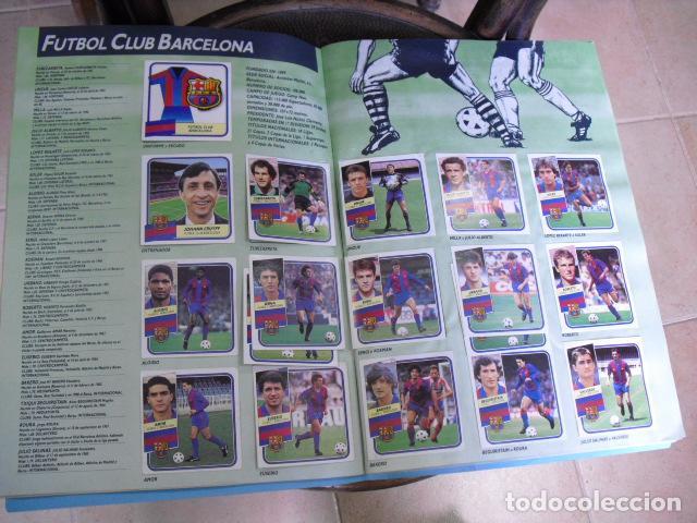 Álbum de fútbol completo: album, liga 89 - 90, de ediciones ESTE, - Foto 2 - 87567760