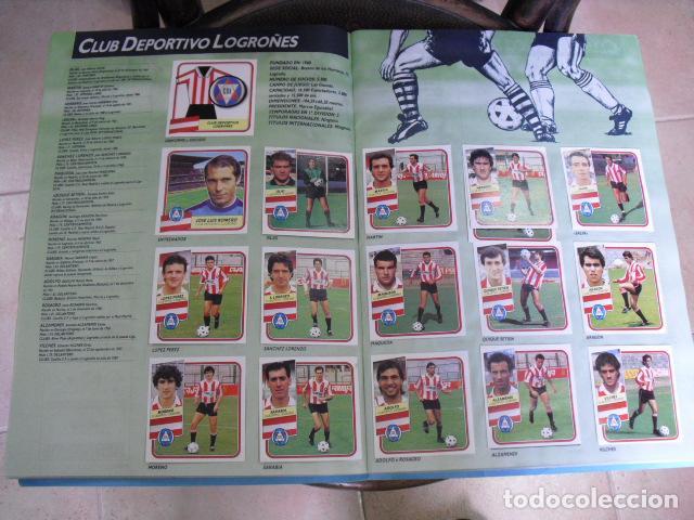 Álbum de fútbol completo: album, liga 89 - 90, de ediciones ESTE, - Foto 8 - 87567760