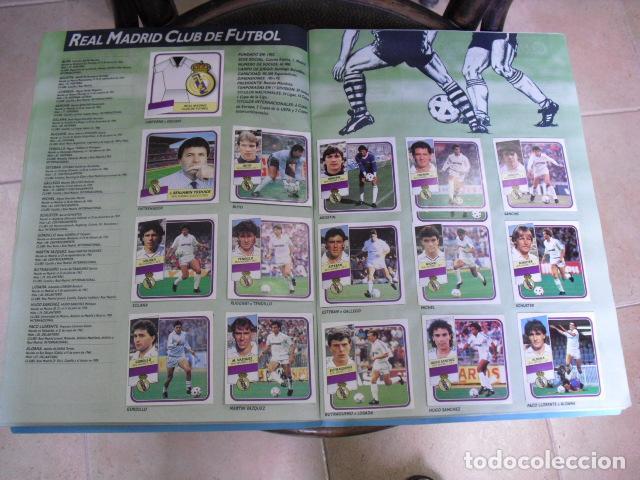 Álbum de fútbol completo: album, liga 89 - 90, de ediciones ESTE, - Foto 10 - 87567760