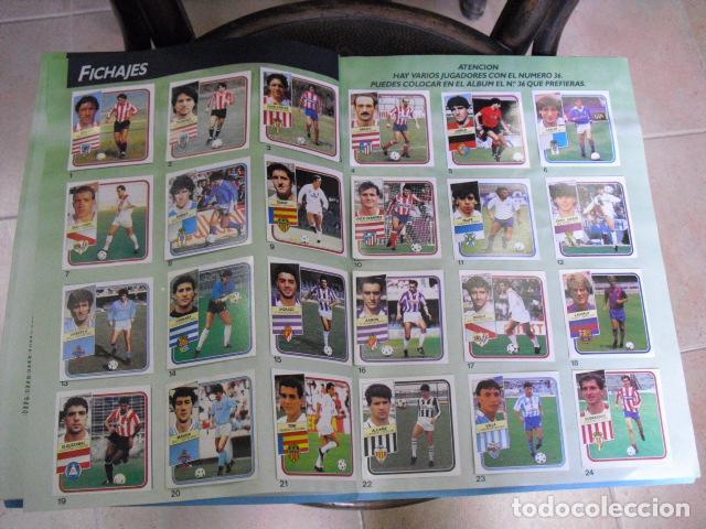 Álbum de fútbol completo: album, liga 89 - 90, de ediciones ESTE, - Foto 21 - 87567760